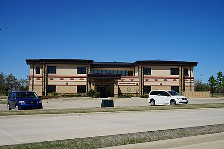 Choctaw Nation Tribal Services Center in Hugo, Oklahoma Hugo March 2016 48 (Choctaw Nation Tribal Services Center).jpg