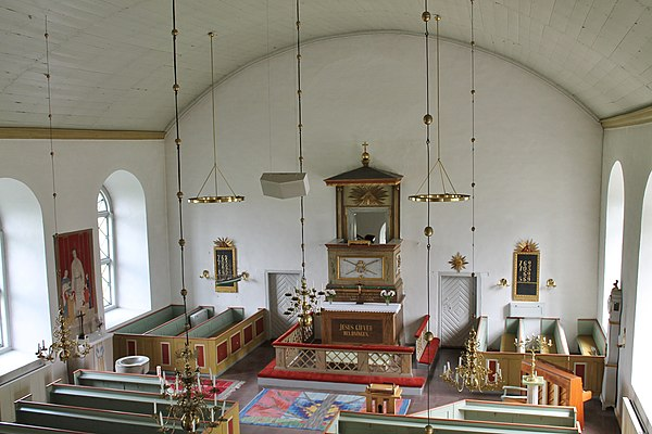 Koret i Hulterstads kyrka