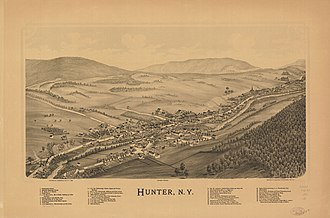 Hunter, New York - Image: Hunter, N.Y. LOC 75694784