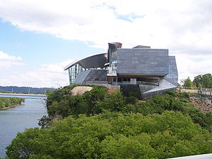 Hunter Museum of American Art in Chattanooga, ...