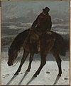 Hunter on Horseback by Gustave Courbet 1864.jpeg