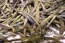 Huoshan Huangya tea leaves close.jpg