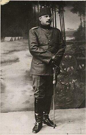 Hüseyin Avni Bey - Lt. Colonel Hüseyin Avni