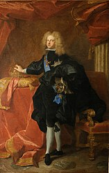 Hyacinthe Rigaud: Felipe V de España