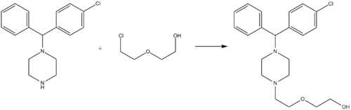 Hydroxyzine synthesis.png
