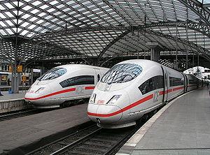 ICE, Train, InterCityExpress.