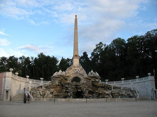 IMG 0286 - Wien - Schloss Schönbrunn - Obelisk