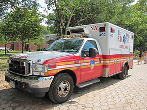 New York City Fire Department Bureau of EMS - FDNY Ambulance 492