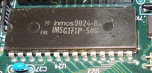 RAMDAC - IMS G171 RAMDAC on the VGA board