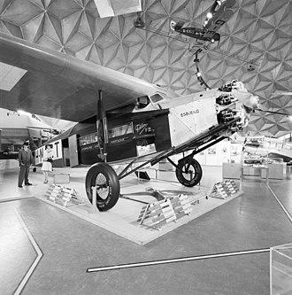 St. Raphael (aircraft) - Fokker F.VIIa similar to the St. Raphael