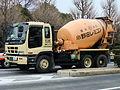 ISUZU GIGA, Cement mixer truck.jpg