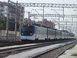 Southern Line (İZBAN) commuter rail line in Izmir, Turkey