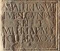 Igliano - Dettaglio della stele romana.jpg