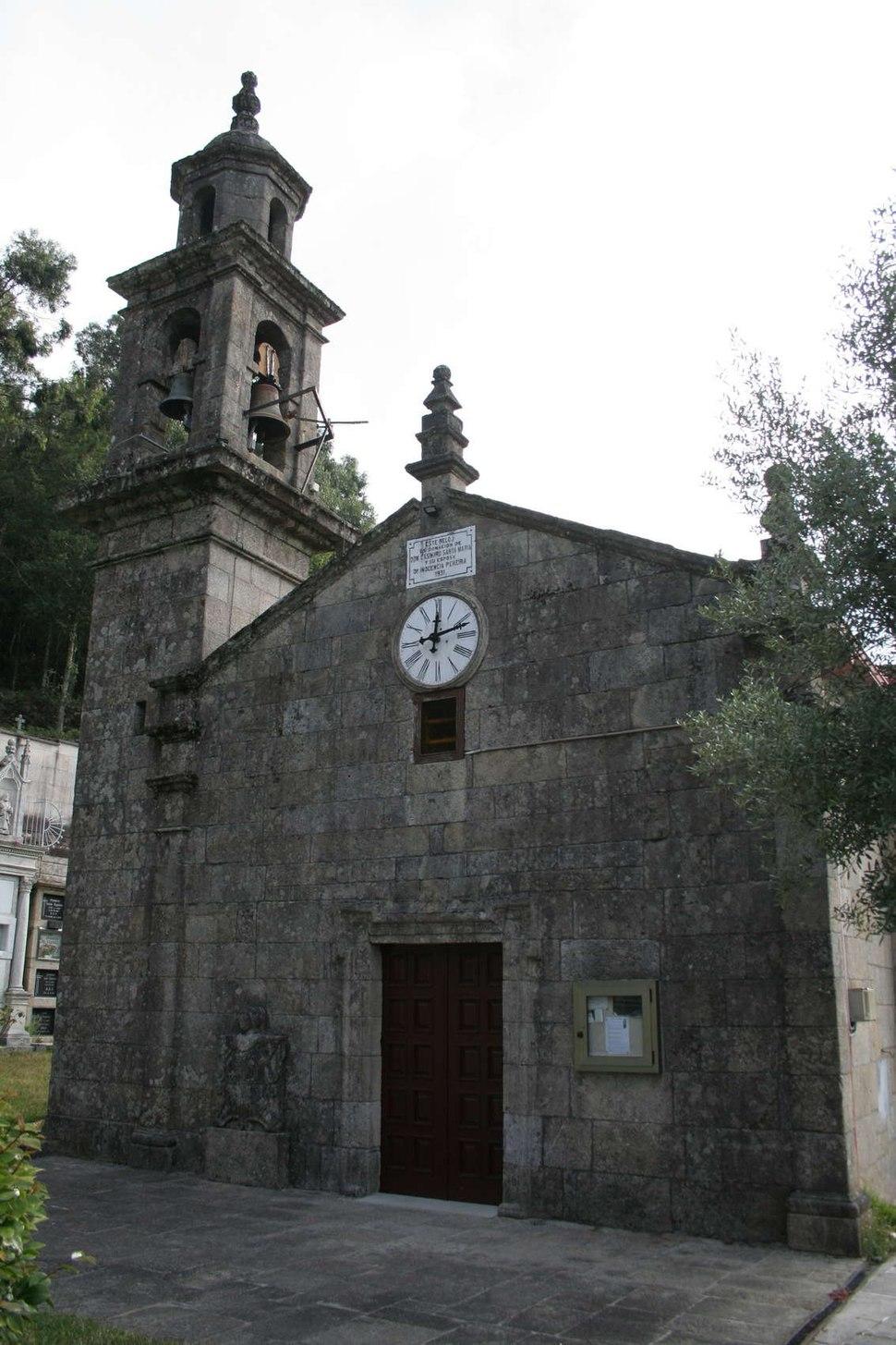 Igrexa de San Fiz de Forzáns. Ponte Caldelas