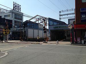 Ijiri Station - Image: Ijiri Station 20150415
