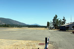 Illinois Valley Airport - Image: Illinois Valley Airport Cave Junction Oregon