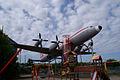Ilyushin Il-18E Coot Czech Airlines OK-PAI RSideFront SATM 05June2013 (14577665286).jpg