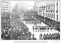 Imponente aspecto que ofrecía la Puerta del Sol al paso de los húsares, de Campúa, Nuevo Mundo, 03-03-1910.jpg