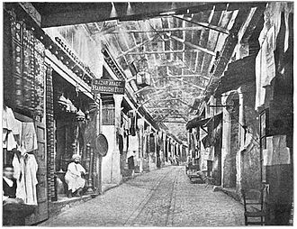 Yusuf Dey - Old Souq of Turkish tailors, transformed into Souq for antiques, near Zitouna