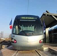 Inauguration de la branche vers Vieux-Condé de la ligne B du tramway de Valenciennes le 13 décembre 2013 (071).JPG
