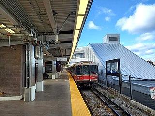 Wollaston station Rapid transit station in Quincy, Massachusetts