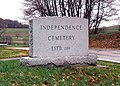 Independence Cemetery Entrance Avella PA 11 1995.jpg