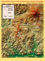 Indian Heaven Volcanic Field and Mount Adams Volcanic Vicinity Digital Relief Map.png