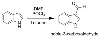 Indole - The Vilsmeyer–Haack formylation of indole