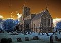 Infrared HDR All Saints church Lawshall Suffolk (3264705373).jpg