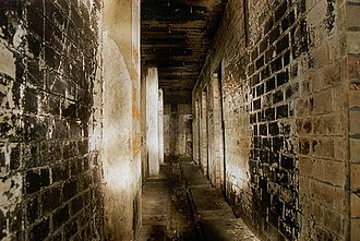 Bankstown Bunker - Inside one of the bunker hallways