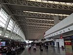 Inside view of Terminal 2 of Wuhan Tianhe International Airport.JPG