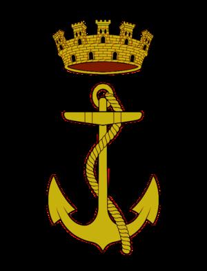 Spanish Republican Armed Forces - Image: Insignia del Cuerpo General Marina de Guerra de la República Española (1931 1939)
