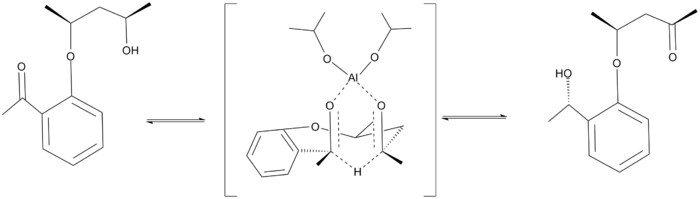 Intramolecular Meerwein–Ponndorf–Verley reduction