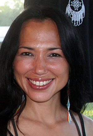 Irene Bedard - Bedard at a pow wow in Livingston, Texas, June 2007.