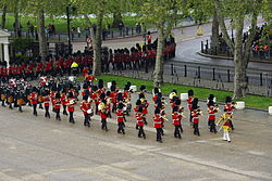 Irish Guards Band State Opening of Parliament 2012.jpg