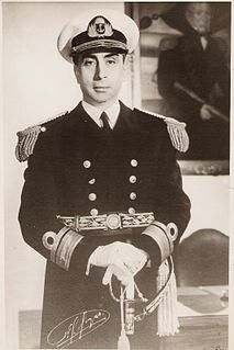 Argentine politician and admiral