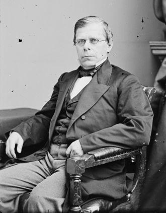 Maine's 6th congressional district - Image: Israel Washburn, Jr. Brady Handy