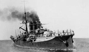 Regina Elena-class battleship - Napoli underway