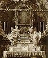 Jędrzejów - opactwo cystersów. Wnętrze kościoła, kaplica bł. W. Kadłubka, fot. przed 1914.jpg