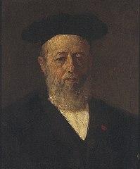 Portret van Pieter Johannes Veth (1814-1895)