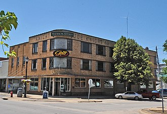 National Register of Historic Places listings in Laclede County, Missouri - Image: JOE KNIGHT BUILDING, LEBANON, LACLEDE COUNTY, MO