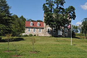Jefferson Township, Berks County, Pennsylvania - John Nicholas and Elizabeth Moyer House