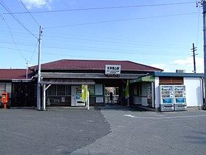 Awa-Katsuyama Station - Image: JRE awa katsuyama sta
