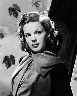 Judy Garland American actress, singer and vaudevillian