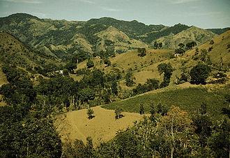 Cordillera Central (Puerto Rico) - Image: Jack Delano Corozal, Puerto Rico