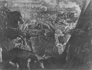 Gonzaga-Zyklus, II. Reihe, 3. Einnahme von Pavia