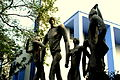 Jadavpur University statue photographed during Bengali Wikipedia 10th Anniversary Celebration 5807.jpg