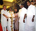 Jairam Ramesh lighting the lamp to inaugurate the All India Editors Conference on Social Sector Issues, at Puducherry. The Minister of State for Personnel, Public Grievances & Pensions and Prime Minister's Office.jpg