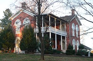 James B. Weaver - Weaver's home, built in 1867 in Bloomfield