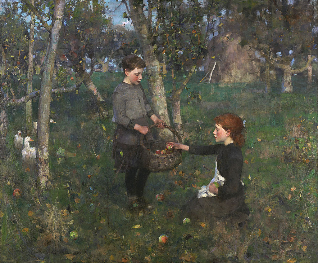 James Guthrie - In the Orchard, 1885-86.jpg